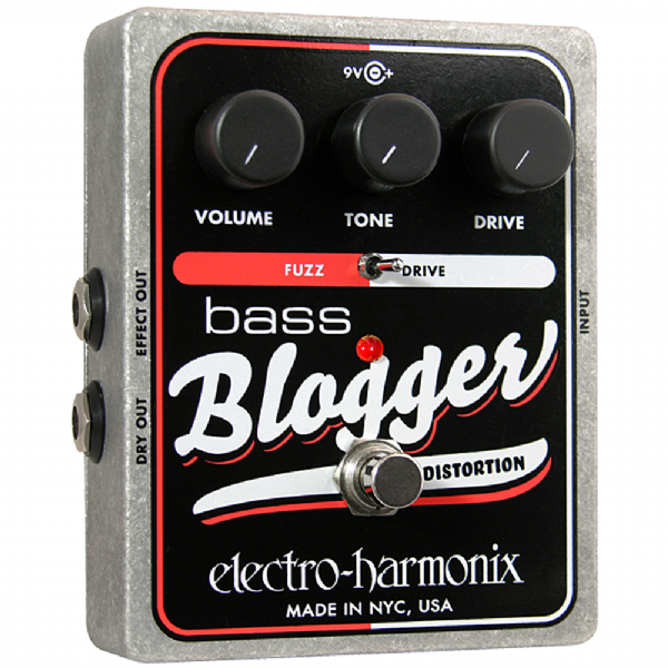Electro Harmonix Bass Blogger Bass Guitar Effects Pedal
